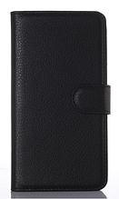 Кожаный чехол-книжка для Motorola Google Nexus 6 (5,96'') черный