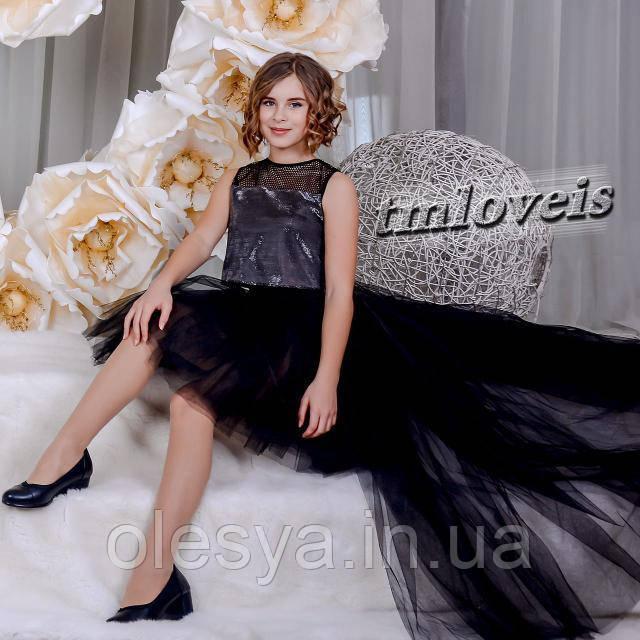 Нарядный подростковый комплект Fashion-2  для девочек Размеры 140-170