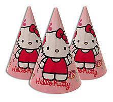 Колпачки Hello Kitty розовые (5шт)