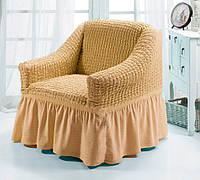 Чехол для мебели (кресло) натуральный (2)