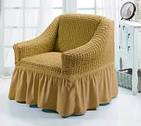 Чехол для мебели (кресло) песочный (3)