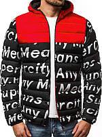 Стильная мужская куртка Superciti Black зимняя. Черная курточка