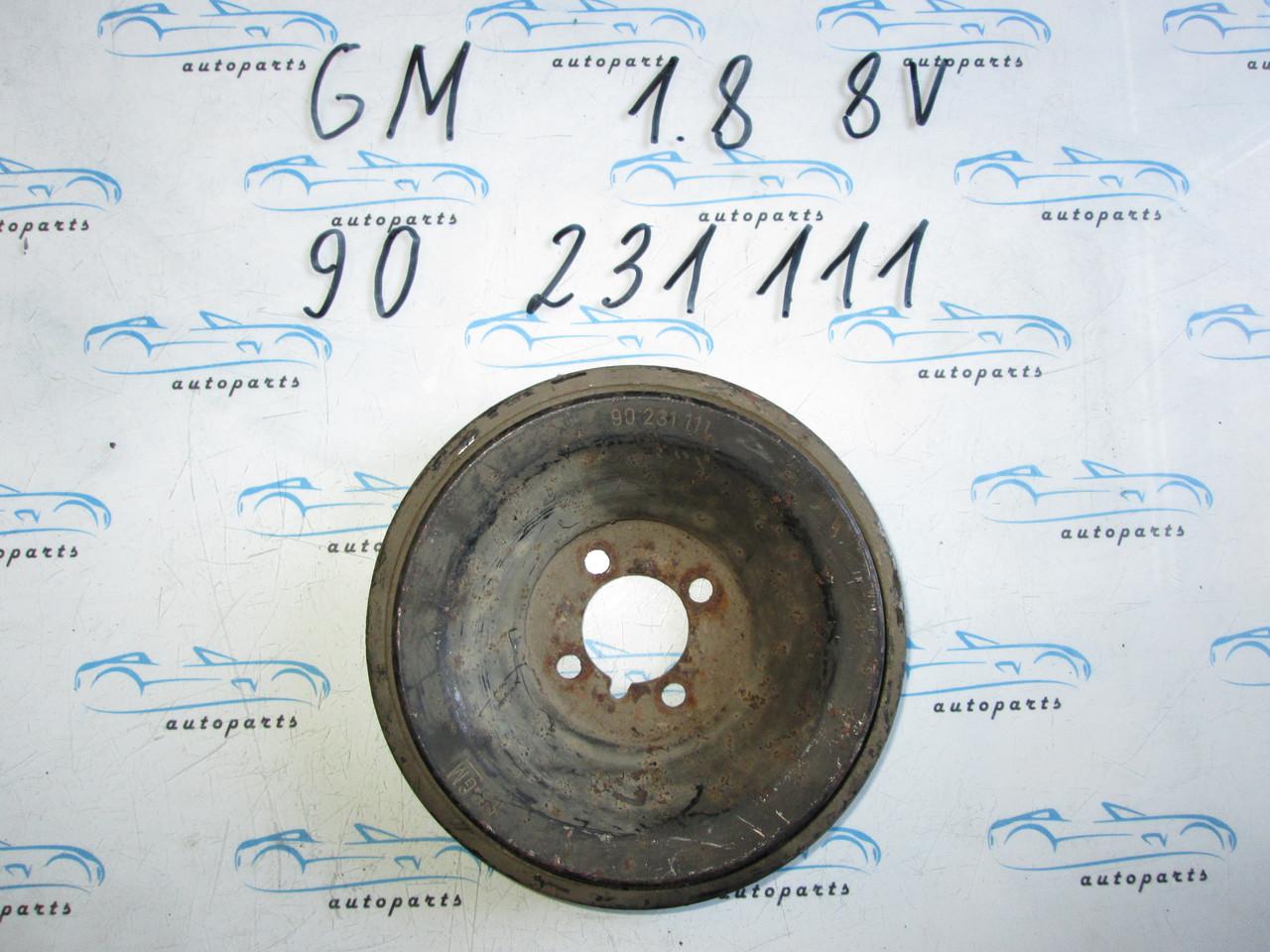Шкив коленвала Opel 1.8 8V, 90231111
