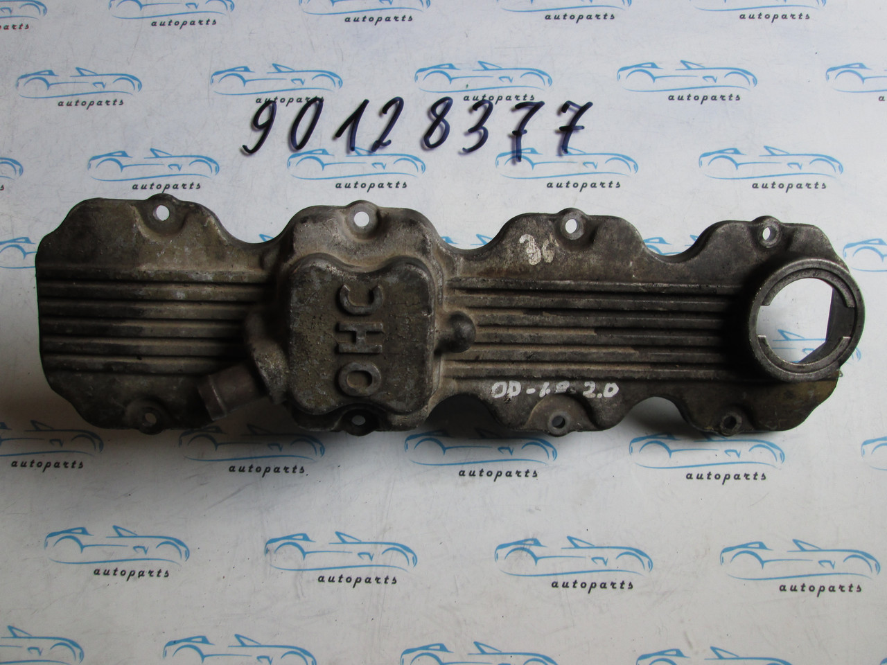 Клапанная крышка Opel 1.7D 8V, 90128377