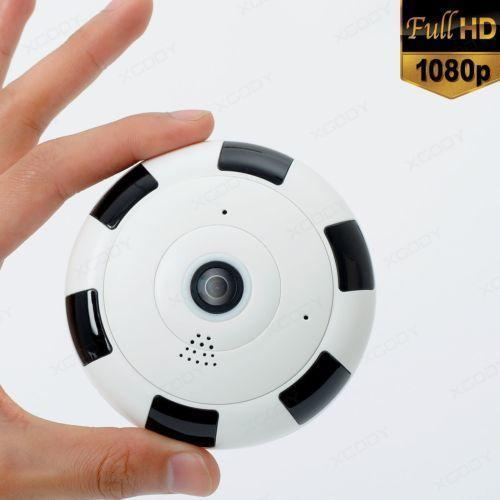 Панорамная IP WI-FI камера V380S