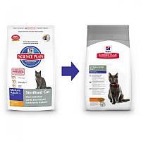 Hills SP Feline Mature Adult 7+ Sterilized для пожилых стерилизованных кошек 1,5 кг