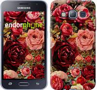 """Чехол на Samsung Galaxy J1 (2016) Duos J120H Цветущие розы """"2701c-262-16700"""""""