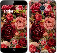 """Чехол на Meizu MX4 Цветущие розы """"2701u-131-16700"""""""
