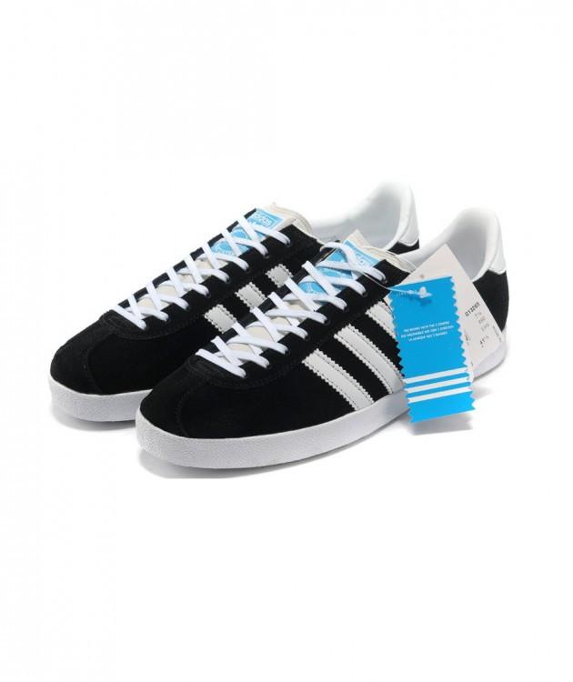 Женские кроссовки Adidas Gazelle черные
