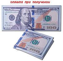 Чоловічий чоловічий гаманець портмоне гаманець Dollar долар на подарунок