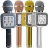 Беспроводной микрофон для караоке WS-1818 с функцией изменения голоса