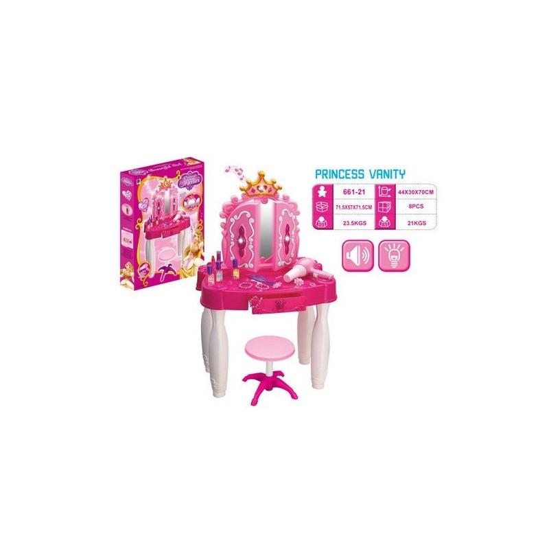 Детское игрушечное трюмо 661-21 со стульчиком