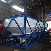 Бункера инертных материалов 3х12 м.куб.
