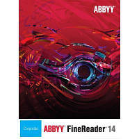 ПО для работы с текстом ABBYY FineReader 14 Corporate (download Лиц.) (AB-10761)
