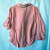Набор детский для девочек 4-6 лет рубашка и лосины  Пудра. Турция, фото 2