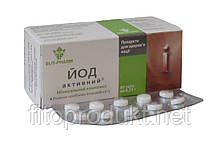 Йод активний для щитовидної залози в таблетках №80 Еліт-Фарм