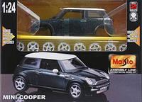 Машина металлическая Mini Cooper 1:24, 39219