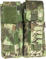 Подсумок Skif Tac для 2-х магазинов АК/AR, 2-х пистолетных, криптек зеленый