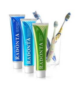 Зубная паста и щетки «RADONTA»