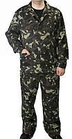 Камуфлированный костюм рисунок Лес, ткань Дефенса