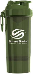 Шейкер SmartShake Original2Go One 800 ml army green