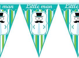 Гирлянда Little man
