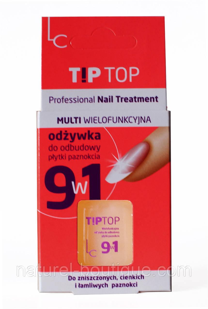 Многофункциональный кондиционер Тip Top  Laura Conti для восстановления ногтевой пластины 9 в 1