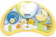 Музыкальный ночник Weina Мишки на воздушном шаре 2147