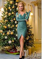 ЖІноче люрексне плаття з розрізами c5075c4e08778