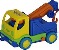 """Игрушка Polesie автомобиль-эвакуатор """"Мой первый грузовик"""" (в сеточке) (5458)"""