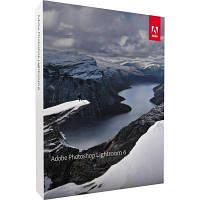 ПО для мультимедиа Adobe Lic Lightroom 6 Multiple Eng AOO Lic TLP (65237534AD01A00)