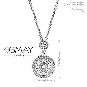 """Серебряный кулон Kigmay Jewelry реплика 1:1 """"Bvlgari 3 level"""", фото 2"""