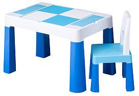 Стіл і стілець Tega Multifun Eco MF-004 104 blue