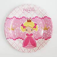 Тарілки паперові Літл Принцес 10шт.