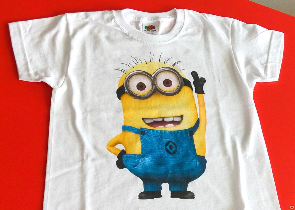 Сделать футболку со своим рисунком