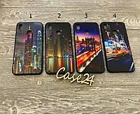 TPU чехол накладка City для Huawei P Smart Plus (4 вида)