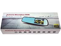 Зеркало — видеорегистратор Vehicle Blackbox DVR 6000 с камерой заднего вида