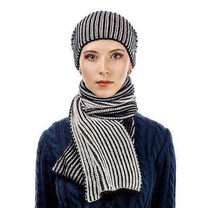 Комплект Atrics WK-520 шапка шарф, фото 2