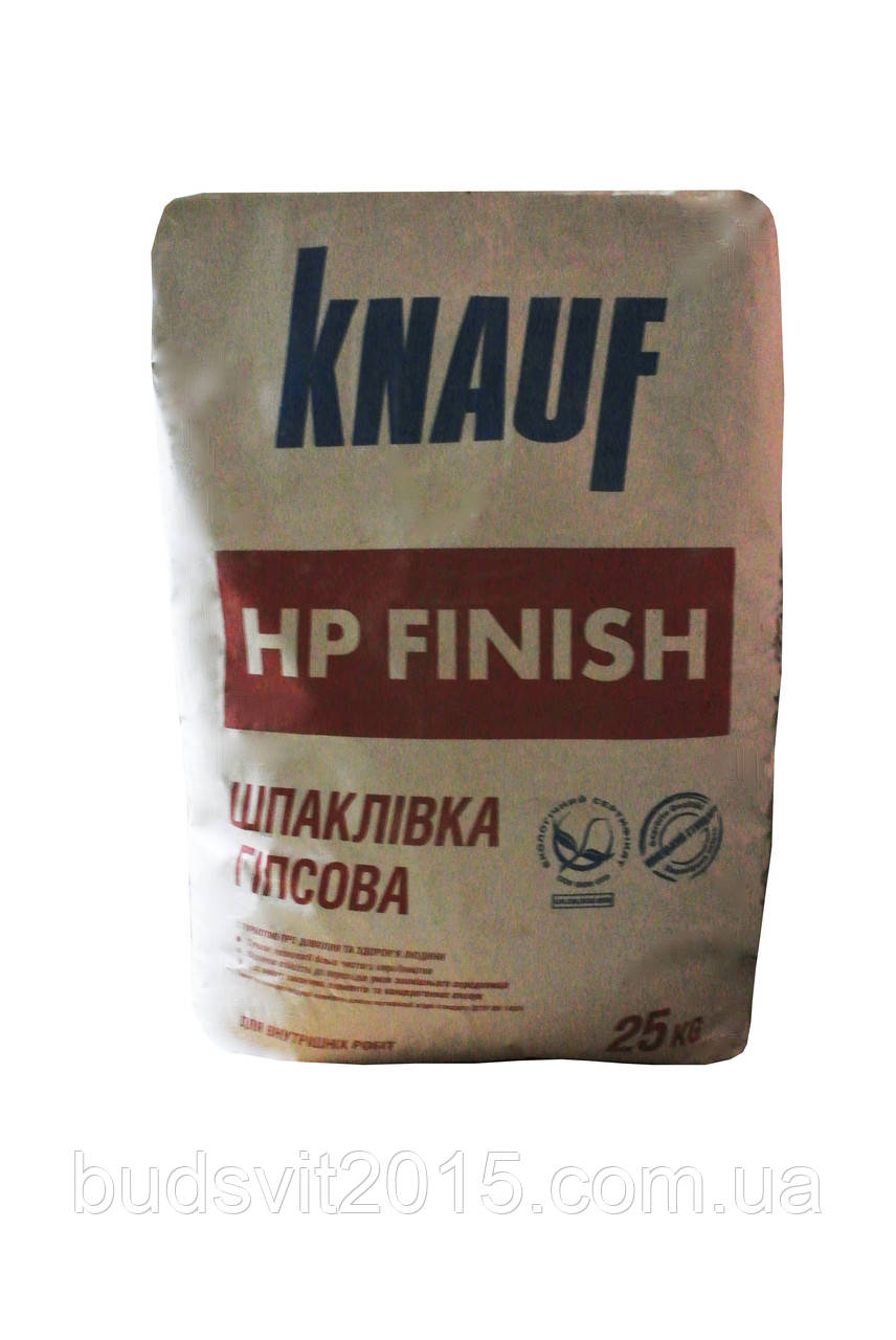 Шпаклівка фінішна Knauf HP finish 25 кг