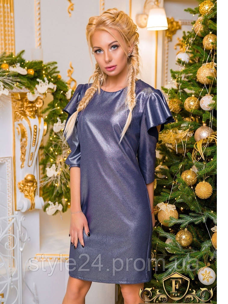 ЖІноче нарядне плаття з розрізами на рукавах.Р-ри 42-50  продажа ... 2399bd076673d
