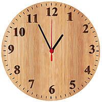 """настенные часы МДФ круглые, """"Текстура дерева"""" 2 вида, фото 1"""