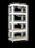 Стеллаж полочный Рембо R211 на зацепах (2958х1200х600)