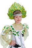 Детский карнавальный костюм для девочки Березка 122-140р, фото 4
