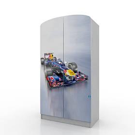 Шкаф платяной «Formula 1» Серый (ТМ Вальтер)