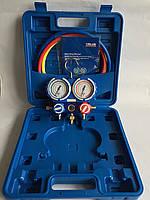 Манометрический коллектор униерсальный  R410A,22,134,407 (VMG Value) в чемодане, 0,9м шанг