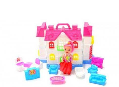 Будинок для ляльок 12261 р.27,5х19х8 см.