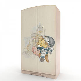 Шкаф платяной «М+Д» Венге светлый (ТМ Вальтер)