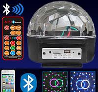 Светодиодный Диско шар с встроенной беспроводной колонкой LED Magic Ball Light