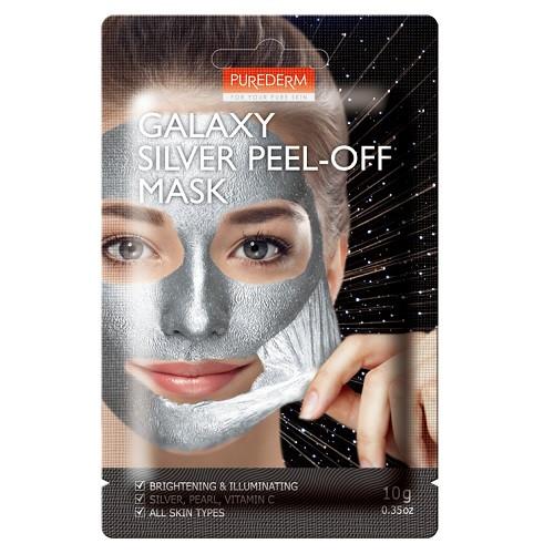 Очищающая маска-пленка Purederm Galaxy Silver Peel-off Mask