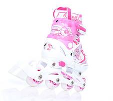 Раздвижные роликовые коньки Tempish Swist - Pink 26-29р., фото 2